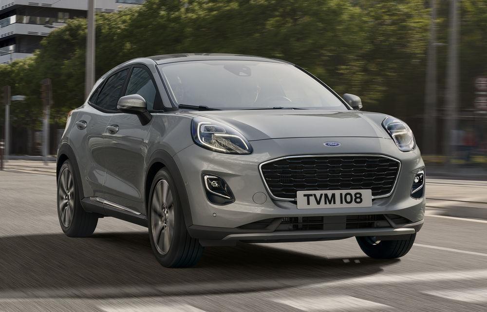 Ford Puma va debuta la Salonul Auto de la Frankfurt în echiparea Titanium X: jante din aliaj de 18 inch și inserții din lemn - Poza 1