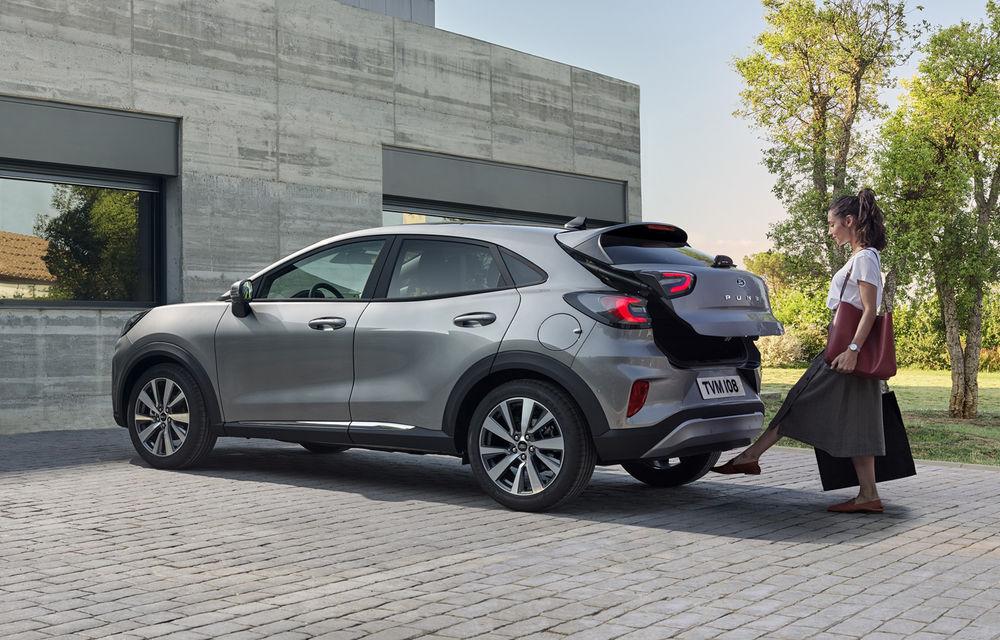 Ford Puma va debuta la Salonul Auto de la Frankfurt în echiparea Titanium X: jante din aliaj de 18 inch și inserții din lemn - Poza 4