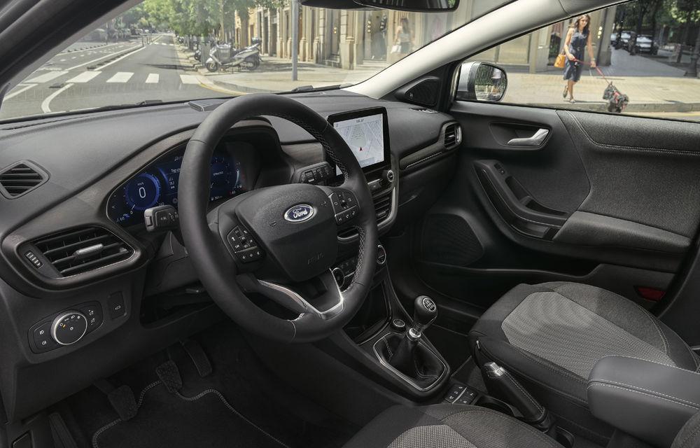 Ford Puma va debuta la Salonul Auto de la Frankfurt în echiparea Titanium X: jante din aliaj de 18 inch și inserții din lemn - Poza 6