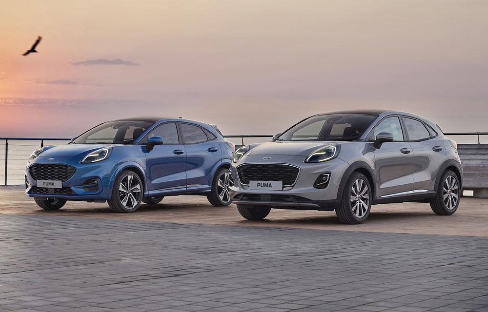 Ford Puma va debuta la Salonul Auto de la Frankfurt în echiparea Titanium X: jante din aliaj de 18 inch și inserții din lemn - Poza 9