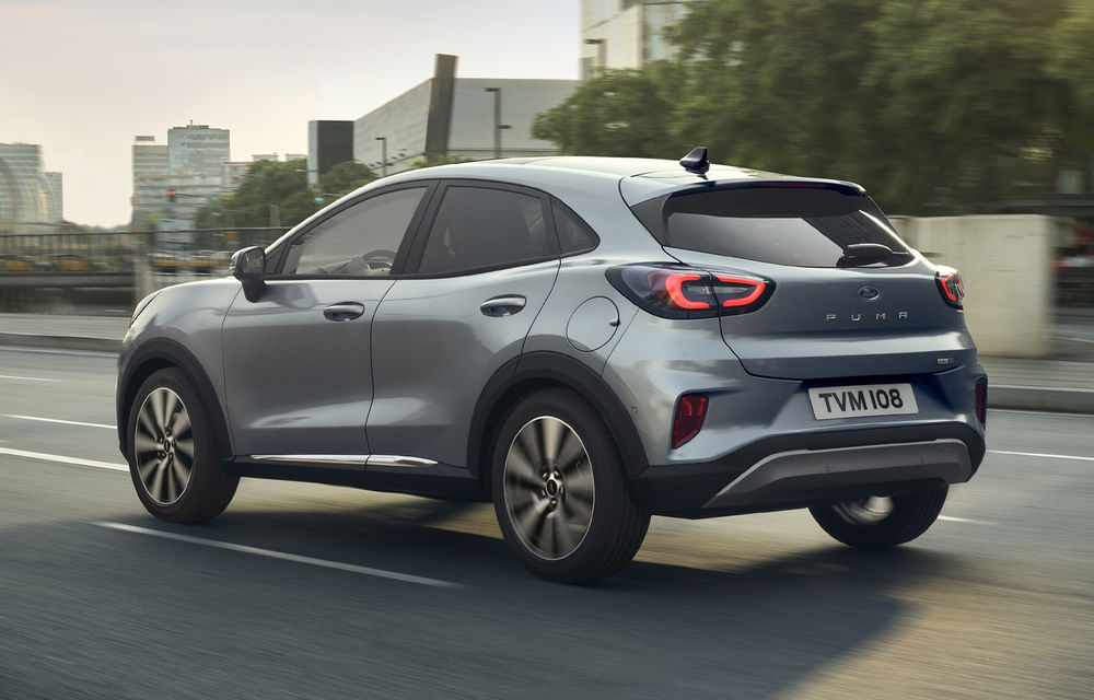 Ford Puma va debuta la Salonul Auto de la Frankfurt în echiparea Titanium X: jante din aliaj de 18 inch și inserții din lemn - Poza 5