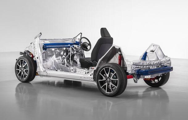 Toyota prezintă o nouă platformă pentru modelele de dimensiuni mici: noua generație Yaris ar putea deveni primul model care o utilizează - Poza 2