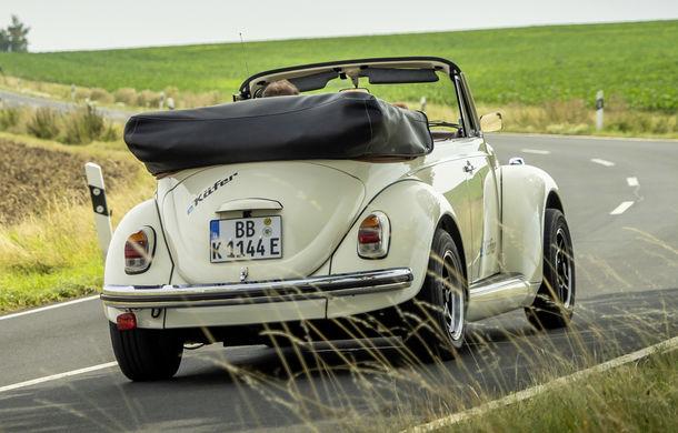 O nouă viață pentru clasicul Beetle: Volkswagen oferă conversii la motorul electric de 82 CP utilizat de noul e-Up! - Poza 2