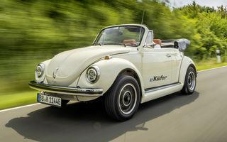 O nouă viață pentru clasicul Beetle: Volkswagen oferă conversii la motorul electric de 82 CP utilizat de noul e-Up!