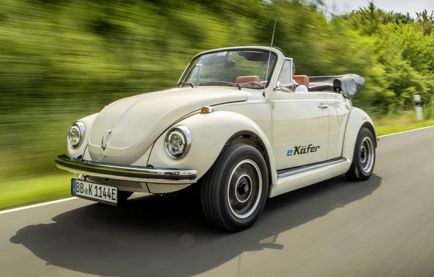O nouă viață pentru clasicul Beetle: Volkswagen oferă conversii la motorul electric de 82 CP utilizat de noul e-Up! - Poza 1