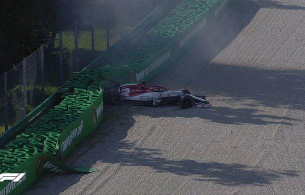 Leclerc, pole position la Monza în fața lui Hamilton și Bottas! Final bizar de calificări: aproape toți piloții au ratat ultimul tur rapid - Poza 2