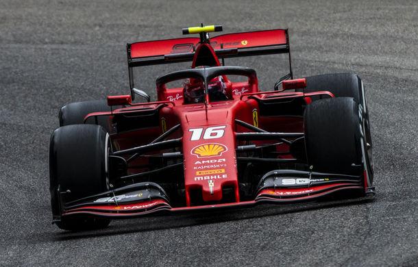 Leclerc, pole position la Monza în fața lui Hamilton și Bottas! Final bizar de calificări: aproape toți piloții au ratat ultimul tur rapid - Poza 1