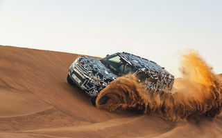 Un nou teaser video cu viitorul Land Rover Defender: modelul britanic va fi prezentat la Frankfurt