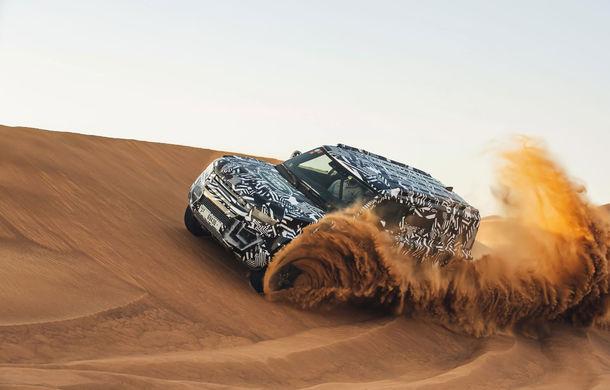 Un nou teaser video cu viitorul Land Rover Defender: modelul britanic va fi prezentat la Frankfurt - Poza 1