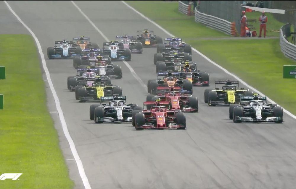 Leclerc a câștigat cursa de la Monza după ce s-a apărat eroic în duelurile cu Hamilton și Bottas! Vettel, locul 13 după o eroare de pilotaj - Poza 2