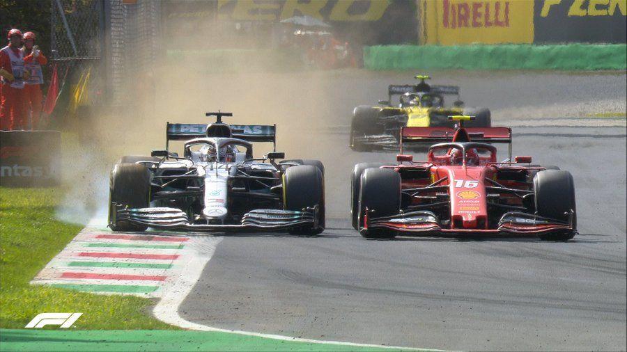 Leclerc a câștigat cursa de la Monza după ce s-a apărat eroic în duelurile cu Hamilton și Bottas! Vettel, locul 13 după o eroare de pilotaj - Poza 6