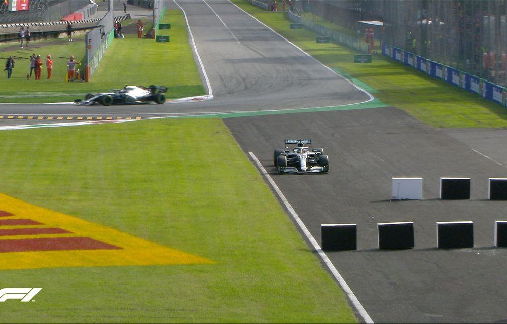 Leclerc a câștigat cursa de la Monza după ce s-a apărat eroic în duelurile cu Hamilton și Bottas! Vettel, locul 13 după o eroare de pilotaj - Poza 5