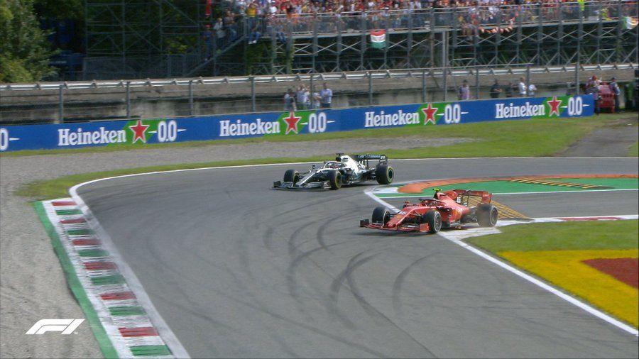 Leclerc a câștigat cursa de la Monza după ce s-a apărat eroic în duelurile cu Hamilton și Bottas! Vettel, locul 13 după o eroare de pilotaj - Poza 4