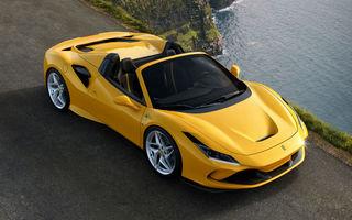 Ferrari prezintă noul F8 Spider: motor V8 de 720 de cai putere și 770 Nm pentru înlocuitorul lui 488 Spider