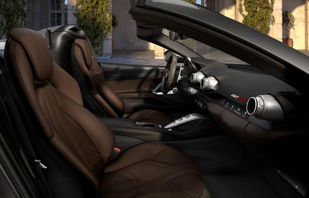 Ferrari a dezvăluit 812 GTS: versiunea cabrio a lui 812 Superfast păstrează motorul de 800 de cai putere - Poza 7