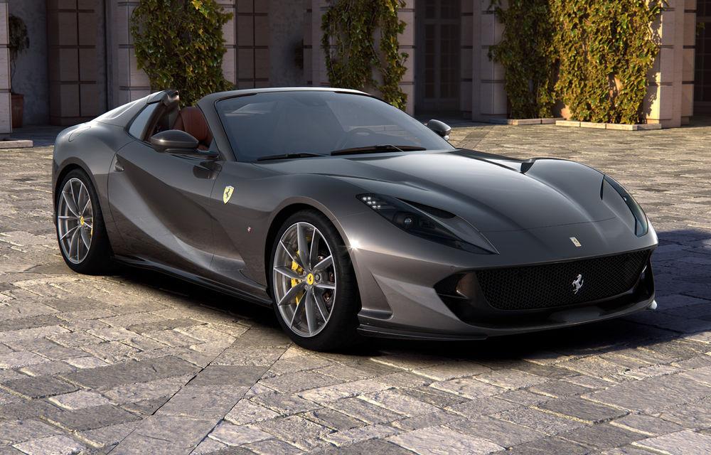 Ferrari a dezvăluit 812 GTS: versiunea cabrio a lui 812 Superfast păstrează motorul de 800 de cai putere - Poza 2