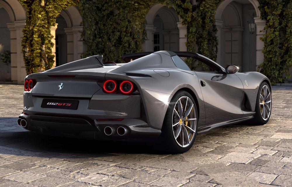 Ferrari a dezvăluit 812 GTS: versiunea cabrio a lui 812 Superfast păstrează motorul de 800 de cai putere - Poza 5