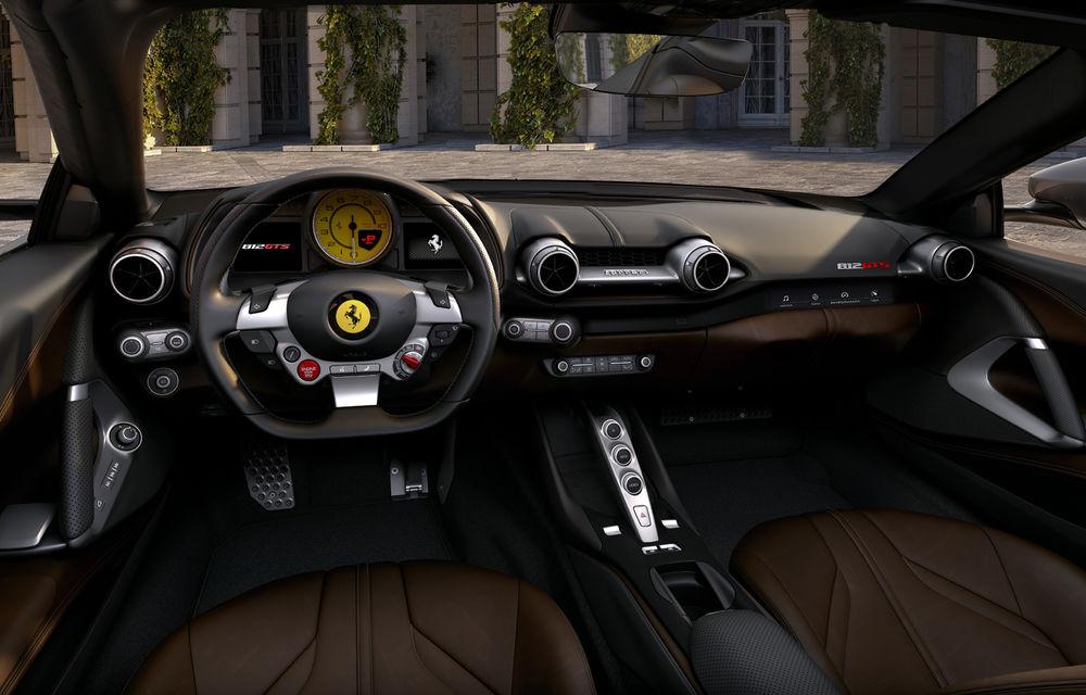 Ferrari a dezvăluit 812 GTS: versiunea cabrio a lui 812 Superfast păstrează motorul de 800 de cai putere - Poza 6