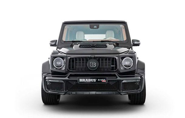 Tratament special pentru Mercedes-Benz Clasa G din partea Brabus: motor V12 cu 900 CP și 1.200 Nm - Poza 2