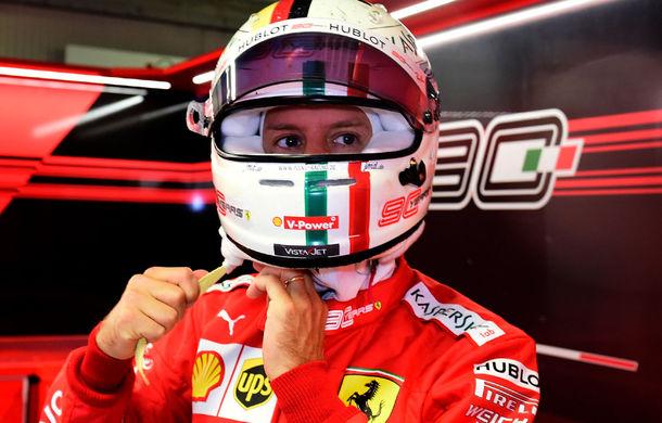 Vettel, la un pas să fie suspendat o cursă în Formula 1: pilotul Scuderiei Ferrari a acumulat 9 puncte de penalizare din 12 - Poza 1