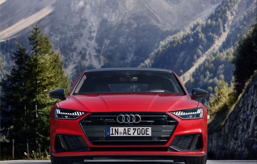 Audi A7 Sportback primește o versiune plug-in hybrid: 367 CP, tracțiune integrală și autonomie electrică de peste 40 de kilometri - Poza 7