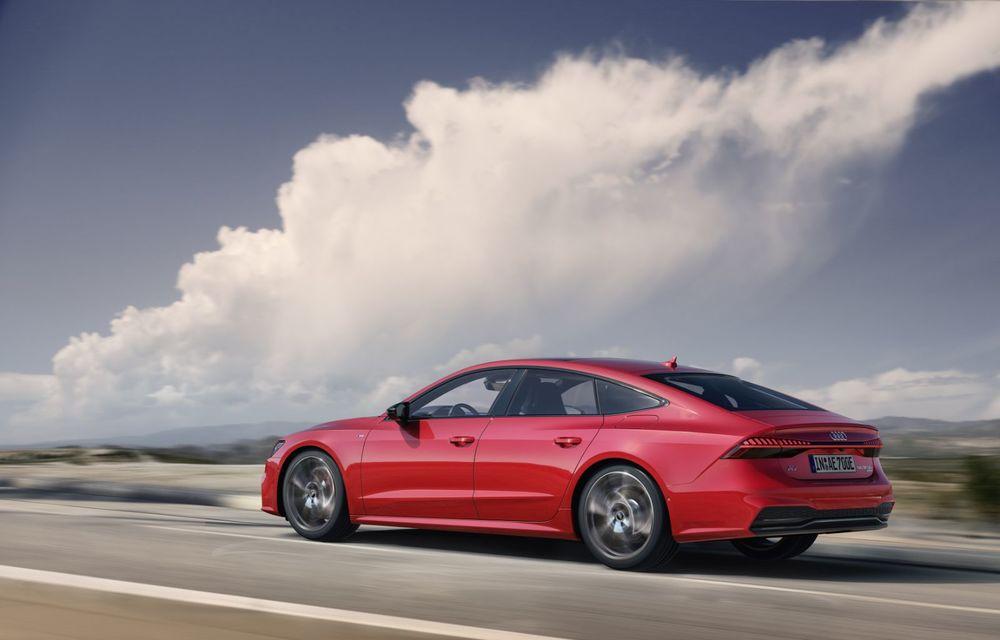 Audi A7 Sportback primește o versiune plug-in hybrid: 367 CP, tracțiune integrală și autonomie electrică de peste 40 de kilometri - Poza 11