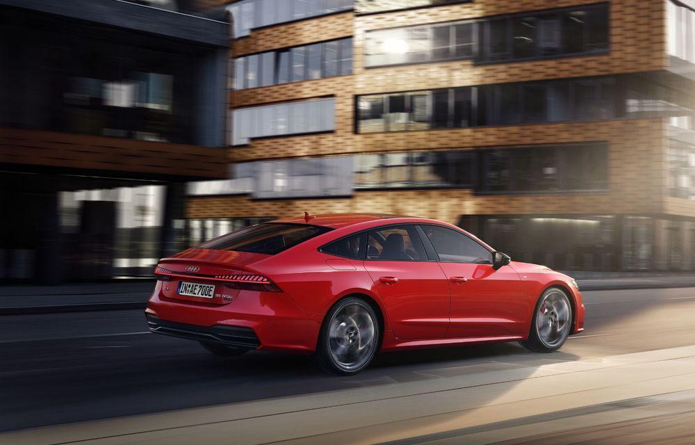 Audi A7 Sportback primește o versiune plug-in hybrid: 367 CP, tracțiune integrală și autonomie electrică de peste 40 de kilometri - Poza 9