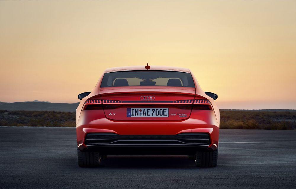 Audi A7 Sportback primește o versiune plug-in hybrid: 367 CP, tracțiune integrală și autonomie electrică de peste 40 de kilometri - Poza 15