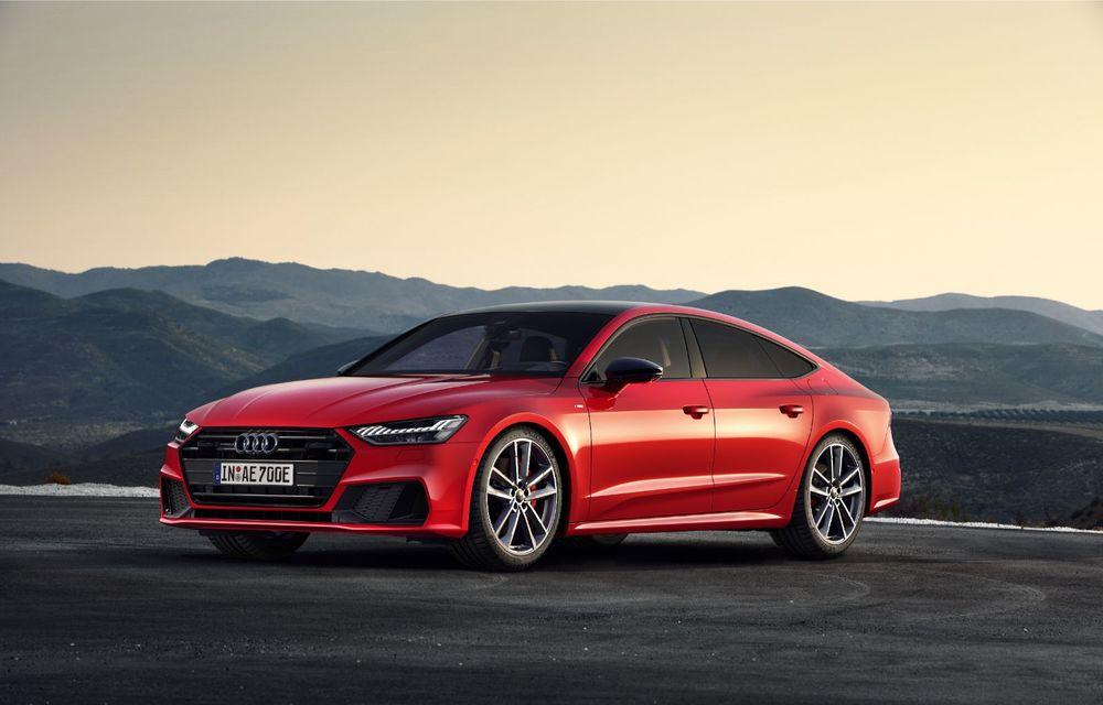 Audi A7 Sportback primește o versiune plug-in hybrid: 367 CP, tracțiune integrală și autonomie electrică de peste 40 de kilometri - Poza 2
