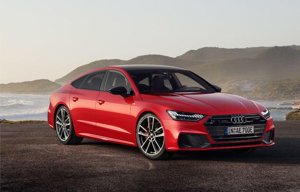 Audi A7 Sportback primește o versiune plug-in hybrid: 367 CP, tracțiune integrală și autonomie electrică de peste 40 de kilometri - Poza 6