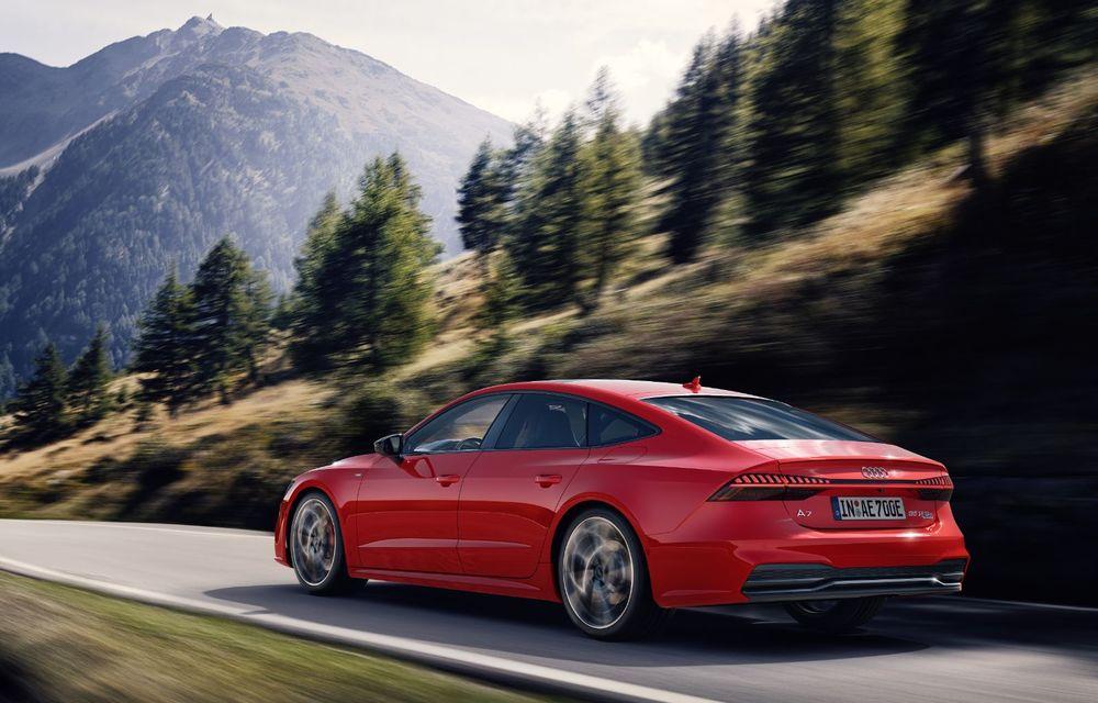 Audi A7 Sportback primește o versiune plug-in hybrid: 367 CP, tracțiune integrală și autonomie electrică de peste 40 de kilometri - Poza 10