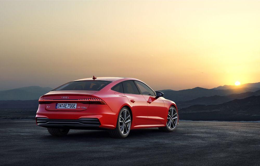 Audi A7 Sportback primește o versiune plug-in hybrid: 367 CP, tracțiune integrală și autonomie electrică de peste 40 de kilometri - Poza 14