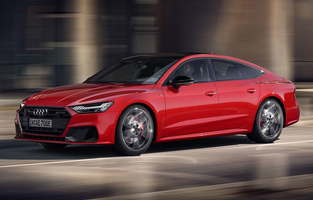 Audi A7 Sportback primește o versiune plug-in hybrid: 367 CP, tracțiune integrală și autonomie electrică de peste 40 de kilometri - Poza 1
