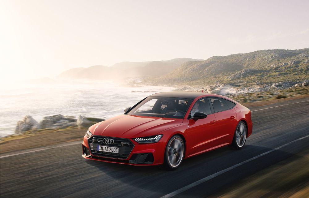 Audi A7 Sportback primește o versiune plug-in hybrid: 367 CP, tracțiune integrală și autonomie electrică de peste 40 de kilometri - Poza 4