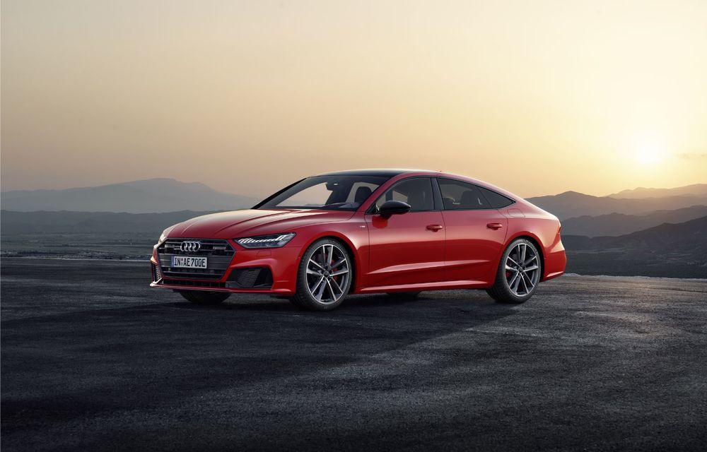 Audi A7 Sportback primește o versiune plug-in hybrid: 367 CP, tracțiune integrală și autonomie electrică de peste 40 de kilometri - Poza 3
