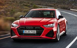 Audi a dezvăluit noul RS7 Sportback: sistem mild-hybrid la 48V, 600 CP și 0-100 km/h în 3.6 secunde