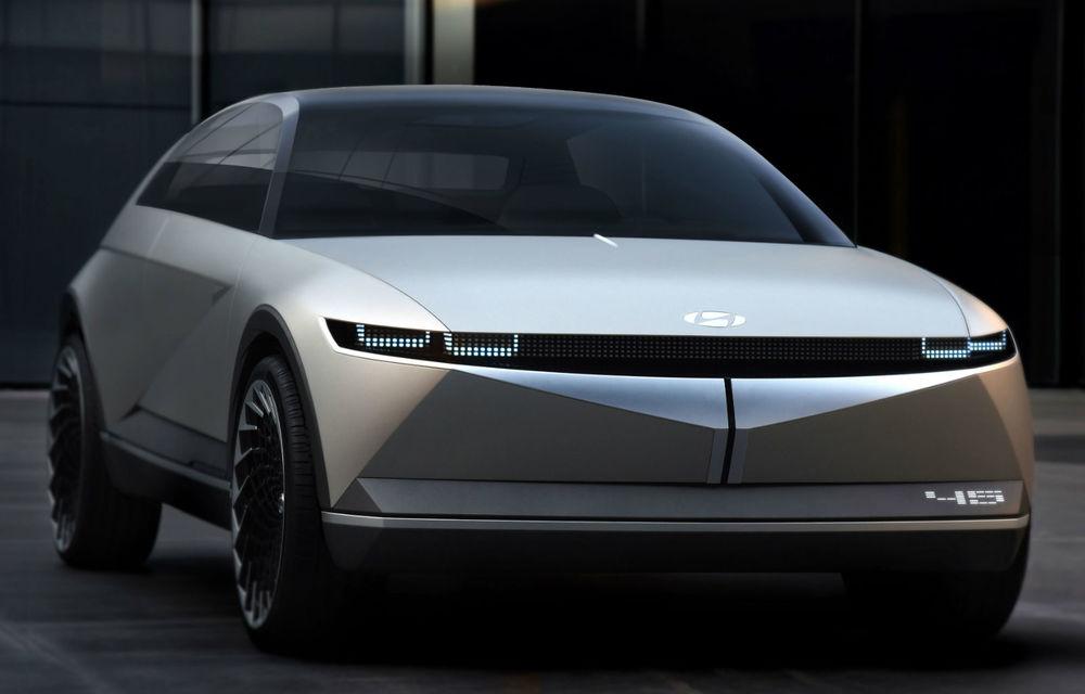 Hyundai prezintă conceptul 45: prototipul anunță direcția de design pentru viitoarele modele electrice ale constructorului - Poza 1