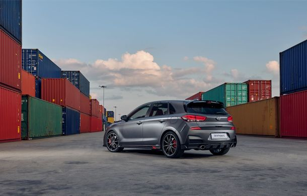 Hyundai a prezentat noul i30 N Project C: ediția specială a Hot Hatch-ului asiatic este mai ușoară și accelerează de la 0 la 100 km/h în 6 secunde - Poza 10