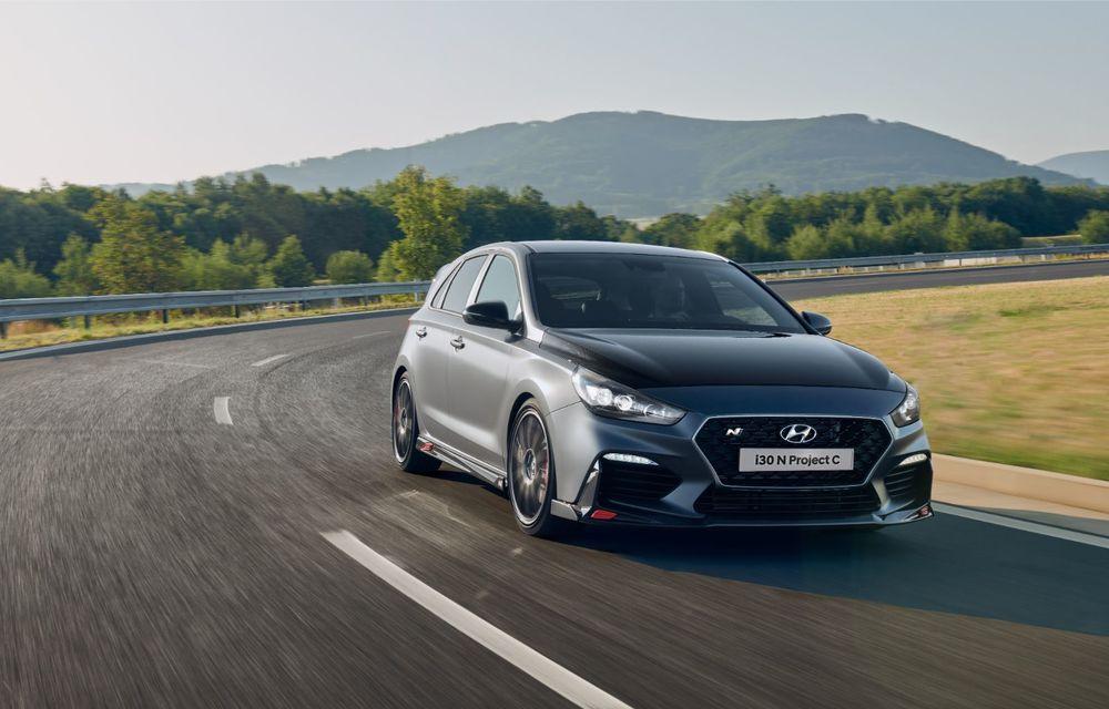 Hyundai a prezentat noul i30 N Project C: ediția specială a Hot Hatch-ului asiatic este mai ușoară și accelerează de la 0 la 100 km/h în 6 secunde - Poza 4