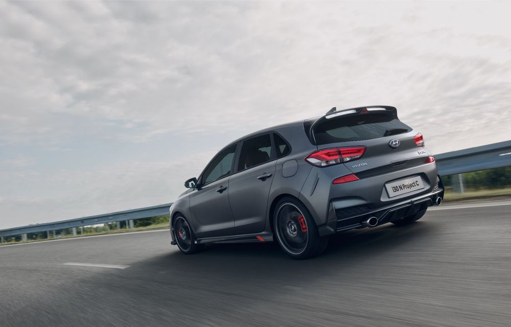 Hyundai a prezentat noul i30 N Project C: ediția specială a Hot Hatch-ului asiatic este mai ușoară și accelerează de la 0 la 100 km/h în 6 secunde - Poza 11