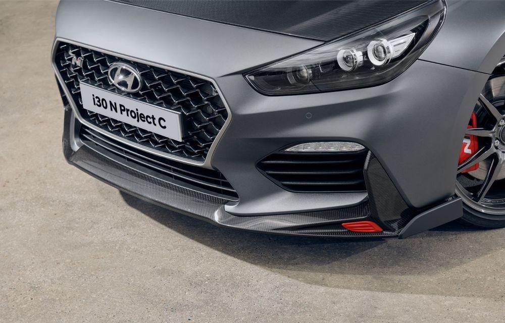 Hyundai a prezentat noul i30 N Project C: ediția specială a Hot Hatch-ului asiatic este mai ușoară și accelerează de la 0 la 100 km/h în 6 secunde - Poza 18