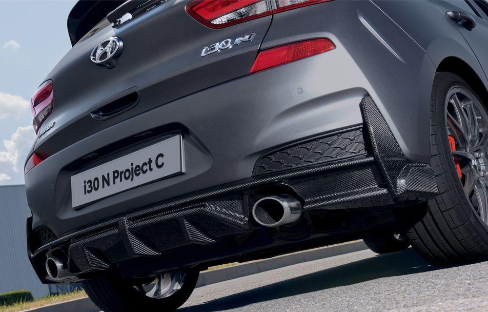 Hyundai a prezentat noul i30 N Project C: ediția specială a Hot Hatch-ului asiatic este mai ușoară și accelerează de la 0 la 100 km/h în 6 secunde - Poza 22