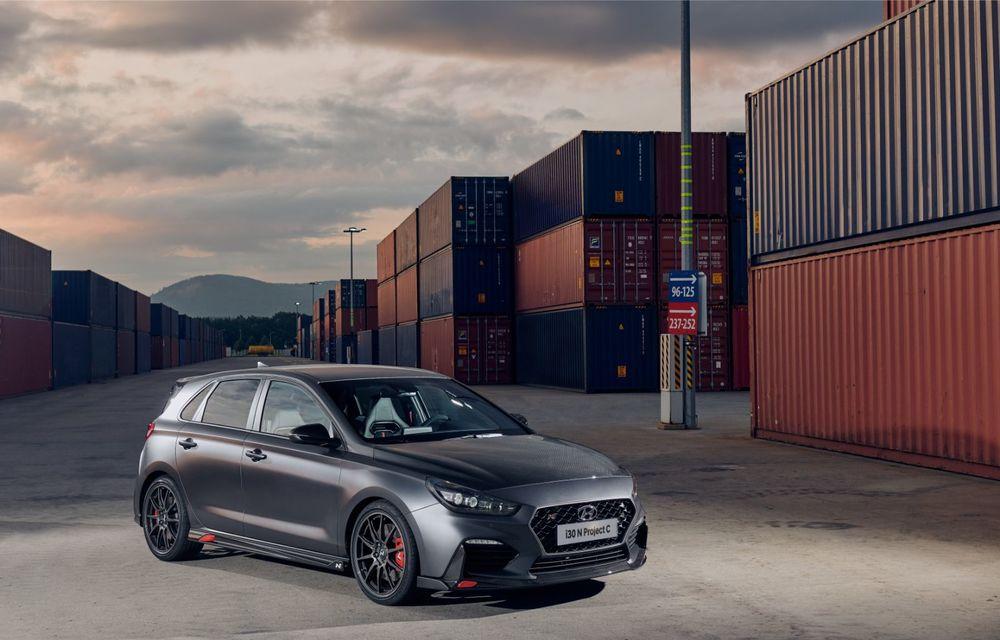 Hyundai a prezentat noul i30 N Project C: ediția specială a Hot Hatch-ului asiatic este mai ușoară și accelerează de la 0 la 100 km/h în 6 secunde - Poza 6