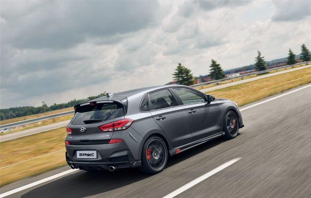 Hyundai a prezentat noul i30 N Project C: ediția specială a Hot Hatch-ului asiatic este mai ușoară și accelerează de la 0 la 100 km/h în 6 secunde - Poza 14