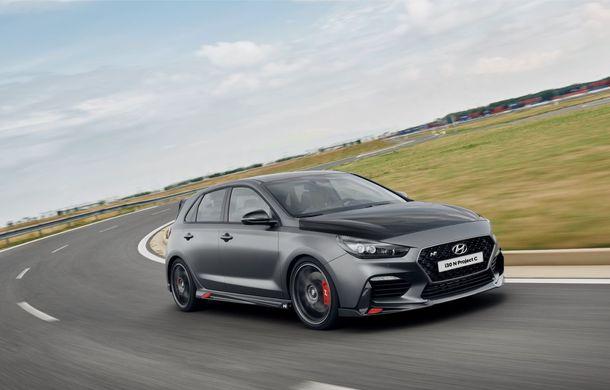 Hyundai a prezentat noul i30 N Project C: ediția specială a Hot Hatch-ului asiatic este mai ușoară și accelerează de la 0 la 100 km/h în 6 secunde - Poza 2