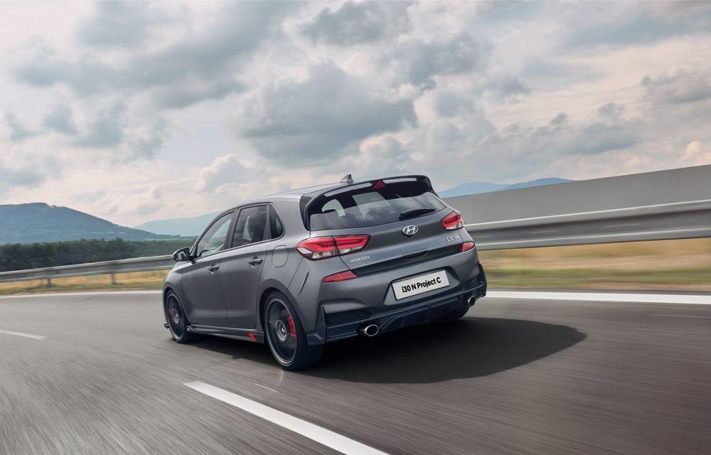 Hyundai a prezentat noul i30 N Project C: ediția specială a Hot Hatch-ului asiatic este mai ușoară și accelerează de la 0 la 100 km/h în 6 secunde - Poza 13