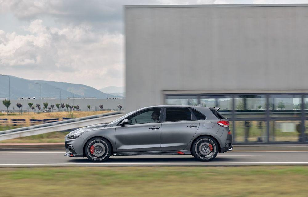 Hyundai a prezentat noul i30 N Project C: ediția specială a Hot Hatch-ului asiatic este mai ușoară și accelerează de la 0 la 100 km/h în 6 secunde - Poza 15