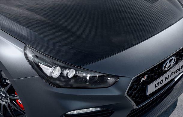 Hyundai a prezentat noul i30 N Project C: ediția specială a Hot Hatch-ului asiatic este mai ușoară și accelerează de la 0 la 100 km/h în 6 secunde - Poza 21