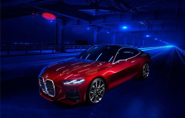 BMW a expus la Frankfurt noul Concept 4: prototipul constructorului german anticipează designul viitorului Seria 4 - Poza 2