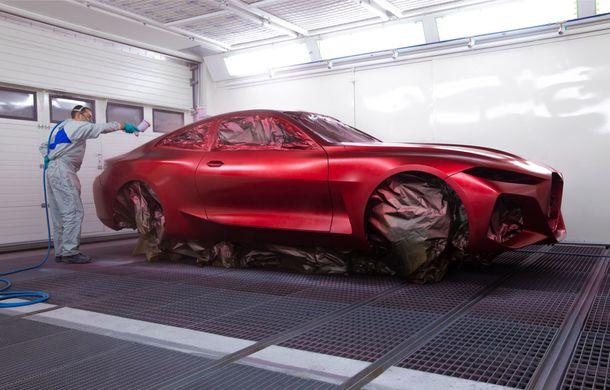 BMW a expus la Frankfurt noul Concept 4: prototipul constructorului german anticipează designul viitorului Seria 4 - Poza 16